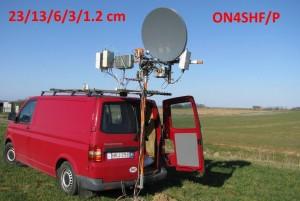 ON4SHF Portable QSL