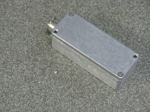 closed elevation sensor housing