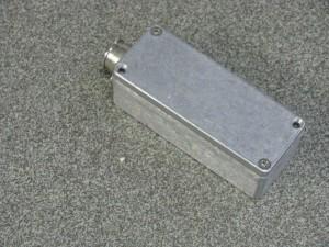 closed elevation sensor housing