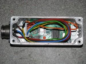 F1TE elevation sensorboard mounted in housing
